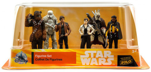 Disney Solo A Star Wars Story Exclusive 6-Piece PVC Figure Play Set