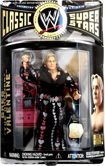 WWE Wrestling Classic Superstars Series 10 Greg The Hammer Valentine Action Figure