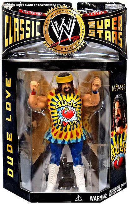 WWE Wrestling Classic Superstars Series 2 Dude Love Action Figure [With Autograph]
