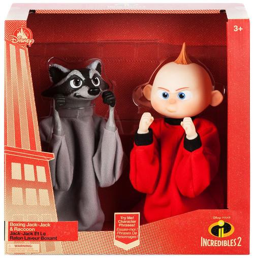 Disney / Pixar Incredibles 2 Boxing Jack-Jack & Raccoon Boxing Exclusive Puppet Set