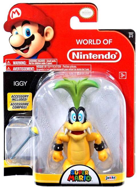 World of Nintendo Wave 12 Iggy Action Figure [with Wand]
