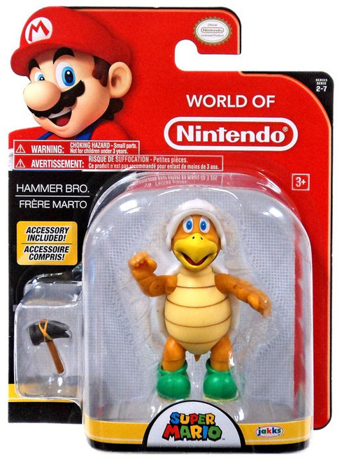 World of Nintendo Wave 12 Hammer Bro Action Figure