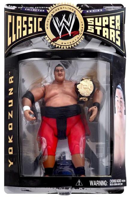 WWE Wrestling Classic Superstars Series 4 Yokozuna Action Figure