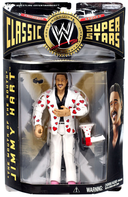 WWE Wrestling Classic Superstars Series 7 Jimmy Hart Action Figure