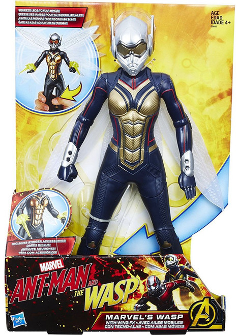 Ant-Man and the Wasp Marvel's Wasp Action Figure [with Wing FX]