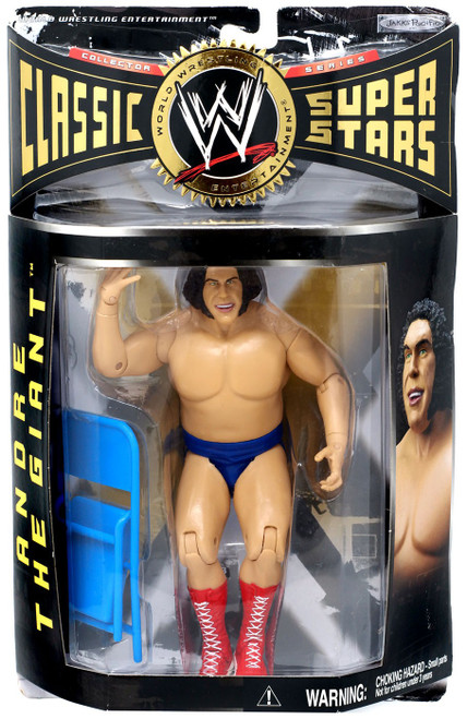 WWE Wrestling Classic Superstars Series 7 Young Andre the Giant Action Figure