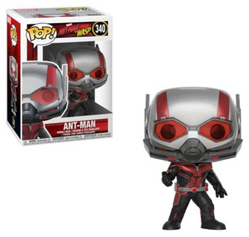 Funko Ant-Man and the Wasp POP! Marvel Ant-Man Vinyl Figure #340 [With Helmet, Regular Version]