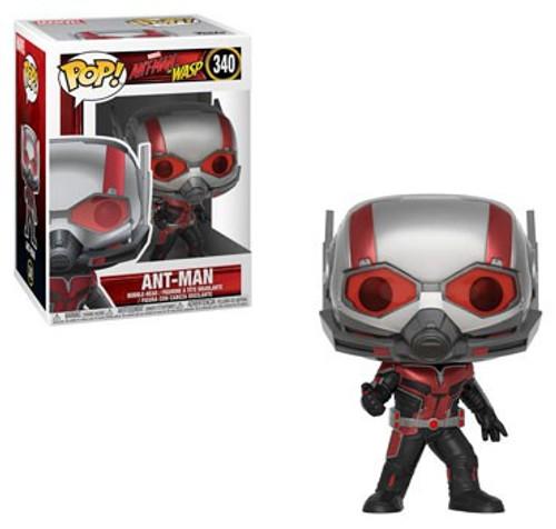 Funko Ant-Man and the Wasp POP! Marvel Ant-Man Vinyl Figure #340 [With Helmet, Regular Version]