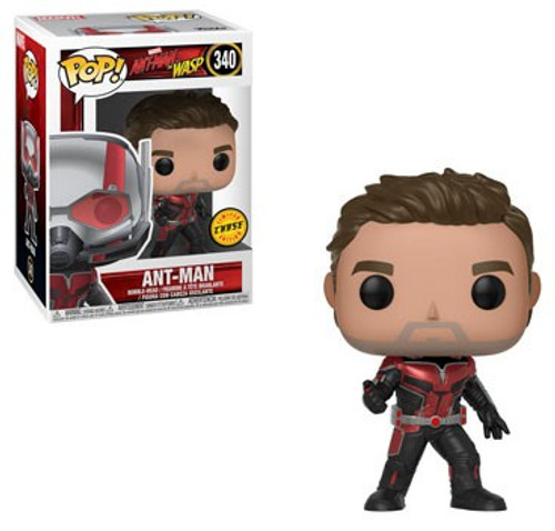 Funko Ant-Man and the Wasp POP! Marvel Ant-Man Vinyl Figure #340 [No Helmet, Chase Version]