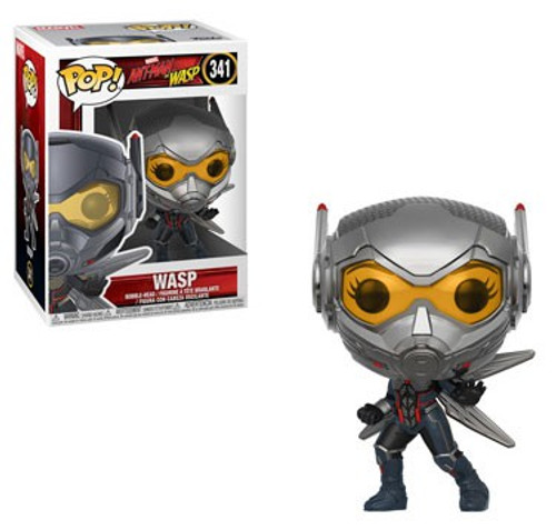 Funko Ant-Man and the Wasp POP! Marvel Wasp Vinyl Figure #341 [With Helmet, Regular Version]