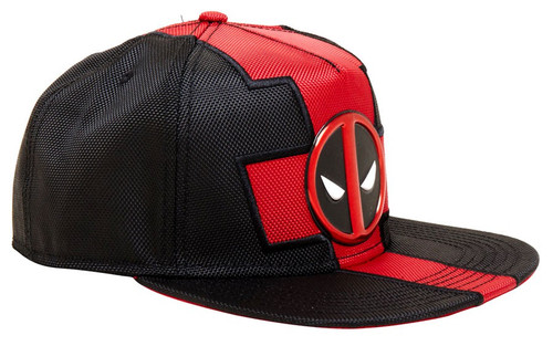 Marvel Deadpool Suit Snapback Cap