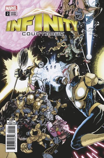 Marvel Comics Infinity Countdown #2 Comic Book [Kuder Connecting Variant]