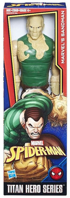 Marvel Spider-Man Titan Hero Series Villains Sandman Action Figure