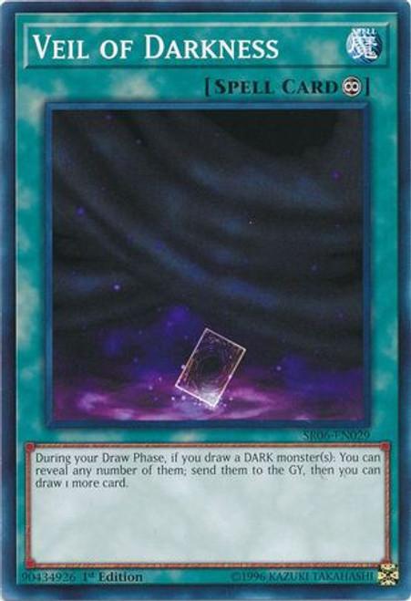 YuGiOh Lair of Darkness Structure Deck Common Veil of Darkness SR06-EN029