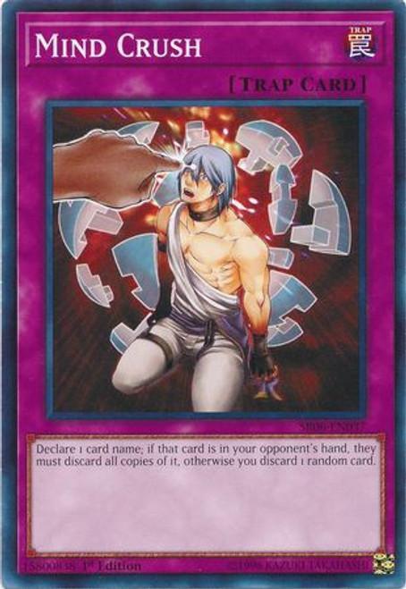 YuGiOh Lair of Darkness Structure Deck Common Mind Crush SR06-EN037