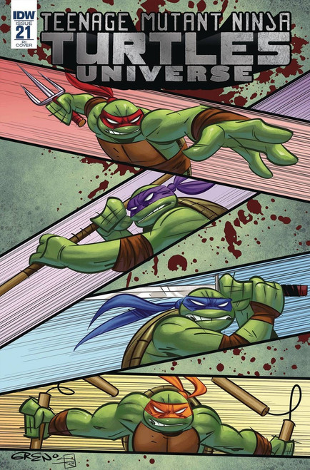 IDW Teenage Mutant Ninja Turtles Universe #21 Comic Book [RI Cover]