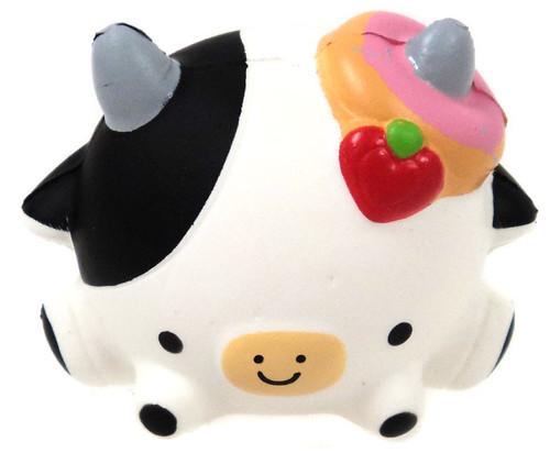 Smooshy Mushy Donut Cow Squeeze Toy