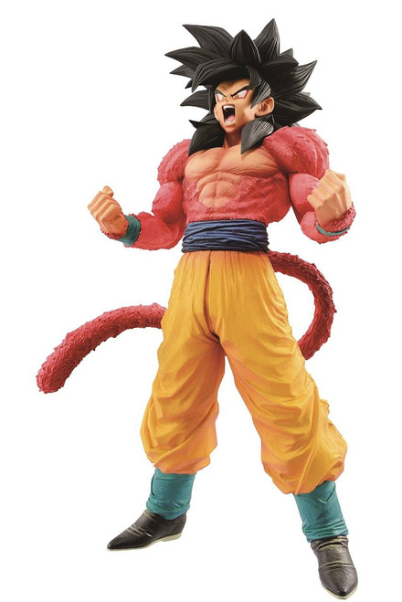 Dragon Ball GT Master Stars Piece Super Saiyan 4 Son Goku 11-Inch Collectible PVC Figure