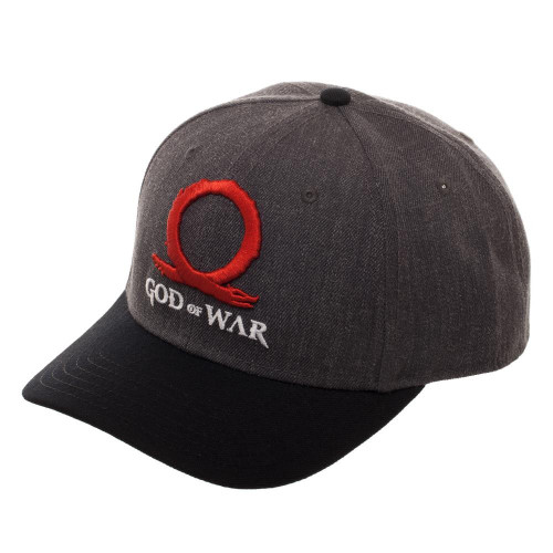 God of War Curved Snapback Cap [Underbill Art]