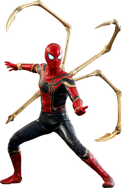 Marvel Avengers Infinity War Movie Masterpiece Iron Spider-Man Collectible Figure [Infinity War]