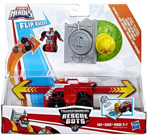 Transformers Playskool Heroes Rescue Bots Heatwave Action Figure [Flip Racers]