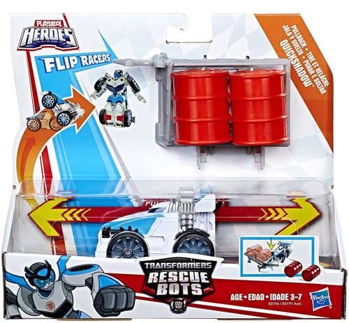 Transformers Playskool Heroes Rescue Bots Quickshadow Action Figure [Flip Racers]