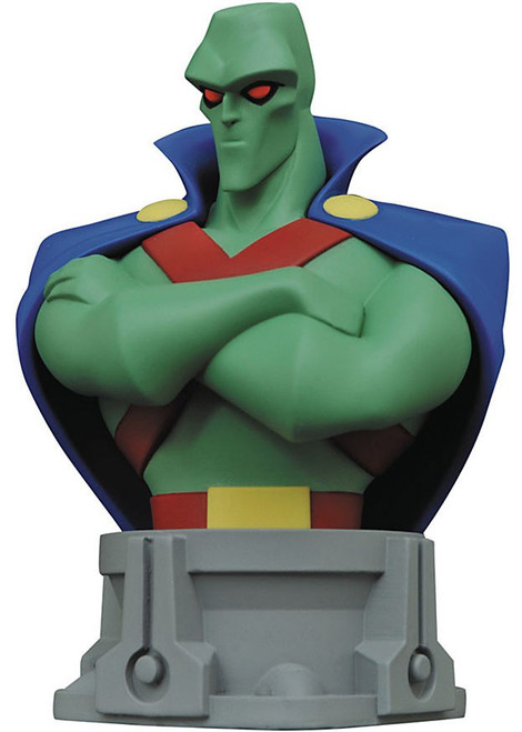 DC Justice League Animated Martian Manhunter Bust