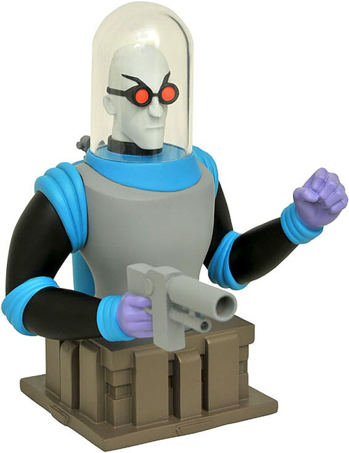 DC Batman The Animated Series Mr. Freeze 5-Inch Bust (Pre-Order ships January)