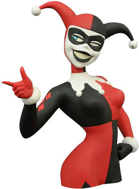 Batman The Animated Series Harley Quinn 8-Inch Vinyl Bust Bank
