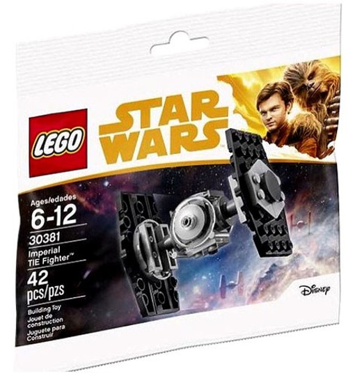 LEGO Star Wars Solo Imperial TIE Fighter #30381 [Bagged]
