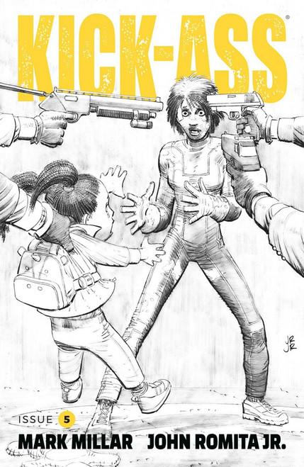 Image Comics Kick-Ass #5 Comic Book [Black & White Cover]