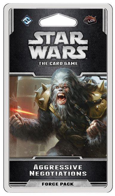 Star Wars LCG Aggressive Negotiations Force Pack