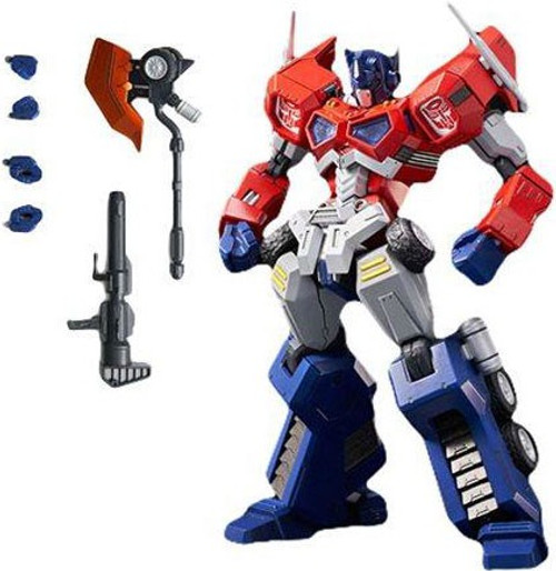 "Transformers Furai Optimus Prime 6.1-Inch 6.1"" Model Kit #01 [Attack Mode]"
