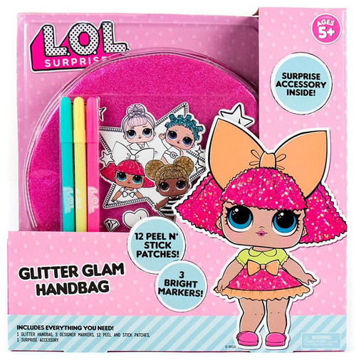 LOL Surprise Glitter Glam Handbag