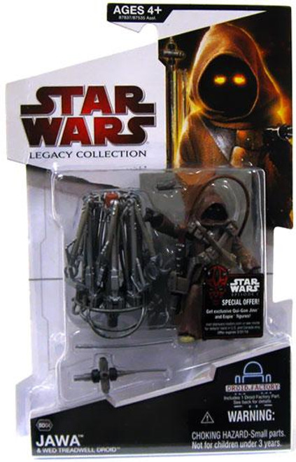 Star Wars A New Hope 2009 Legacy Collection Droid Factory Jawa & Wed Treadwell Droid Action Figure 2-Pack BD04