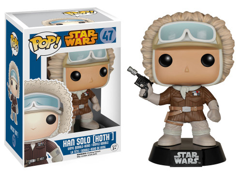 Funko The Empire Strikes Back POP! Star Wars Han Solo Exclusive Vinyl Bobble Head #47 [Hoth, Damaged Package]