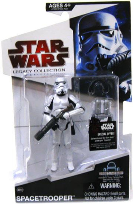 Star Wars Expanded Universe 2009 Legacy Collection Droid Factory Spacetrooper Action Figure BD03 [Classic Helmet]