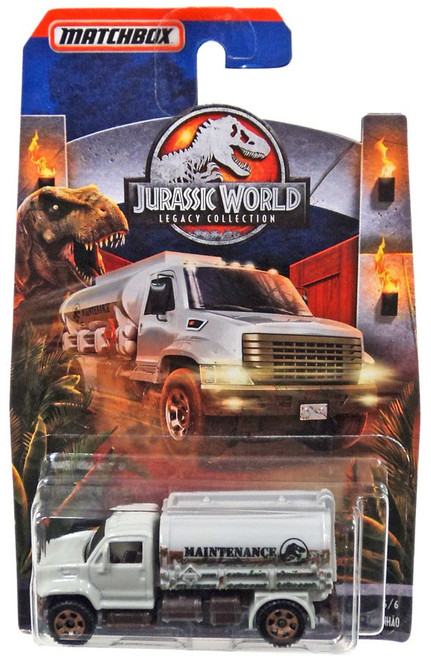 Jurassic World Matchbox Legacy Collection MBX Tanker Diecast Vehicle #6/6