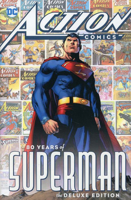 DC Action Comics 80 Years of Superman Hard Cover Comic Book
