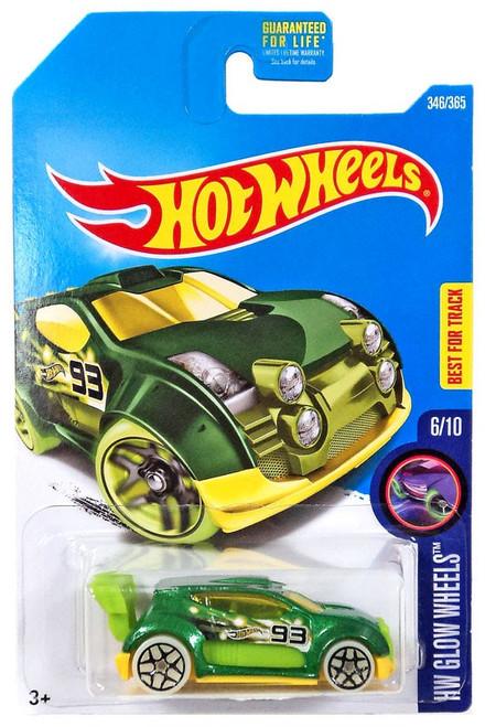 Hot Wheels HW Glow Wheels Fast 4WD Die-Cast Car #6/10