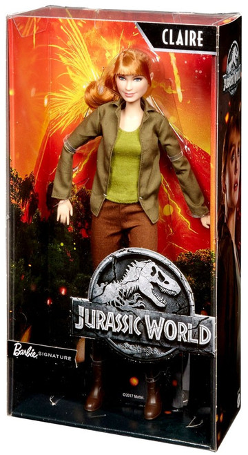 Jurassic World Fallen Kingdom Barbie Signature Claire Doll