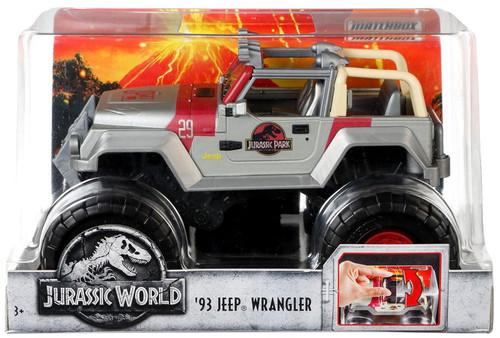 Jurassic World Fallen Kingdom Matchbox '93 Jeep Wrangler Diecast Vehicle