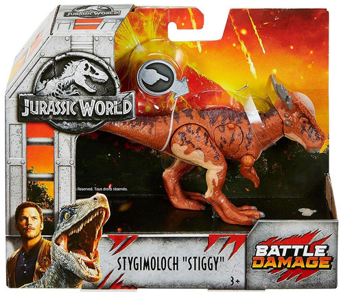 "Jurassic World Fallen Kingdom Stygimoloch ""Stiggy"" Exclusive Action Figure [Battle Damage]"