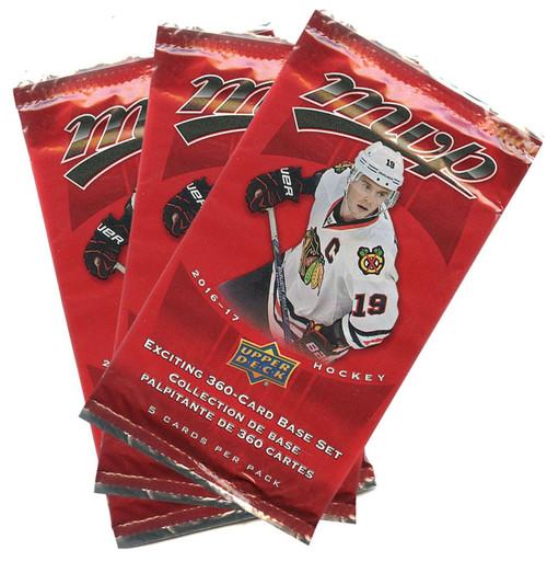 NHL 2016-17 MVP Hockey LOT OF 36 Trading Card Packs