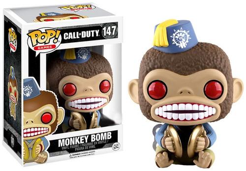 Funko Call of Duty POP! Games Monkey Bomb Exclusive Vinyl Figure #147