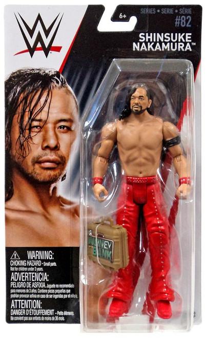 WWE Wrestling Series 82 Shinsuke Nakamura Action Figure [Money in the Bank]