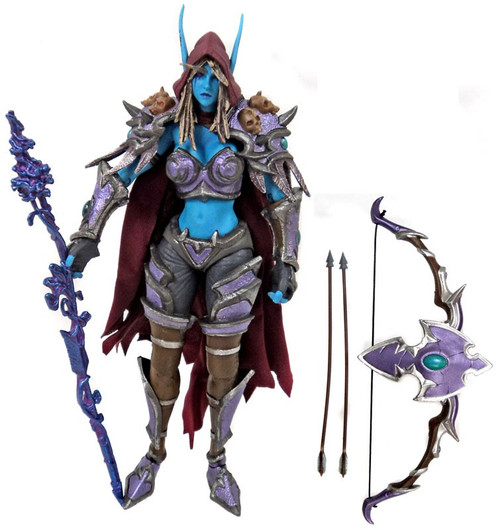 NECA Heroes of the Storm World of Warcraft Series 3 Sylvanas Windrunner Action Figure [The Banshee Queen, Loose]