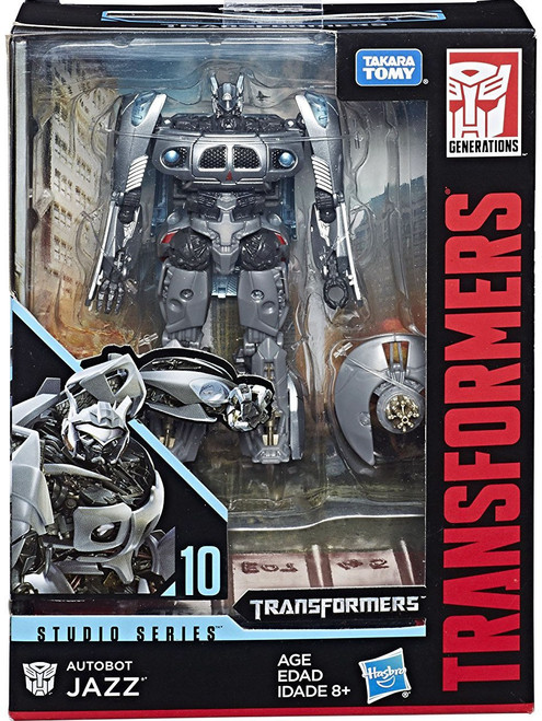 Transformers Generations Studio Series Autobot Jazz Deluxe Action Figure #10