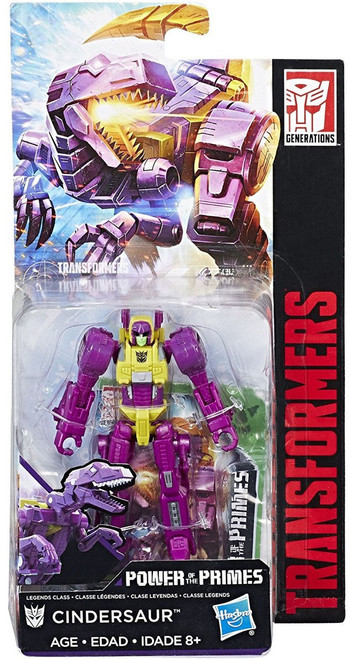 Transformers Generations Power of the Primes Cindersaur Legend Action Figure
