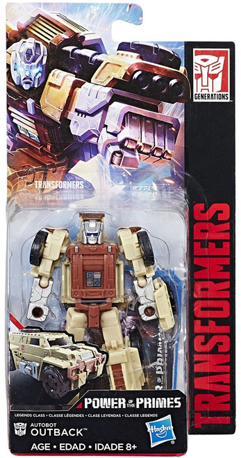 Transformers Generations Power of the Primes Outback Legend Action Figure